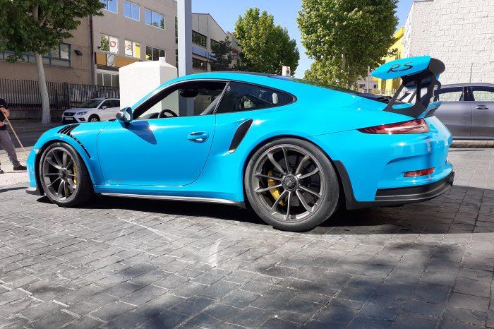 Alquilar Porsche GT3 RS