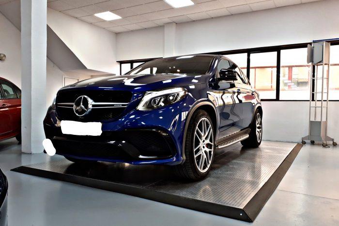Alquilar Mercedes GLE 63s AMG